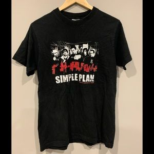 Simple Plan North American Tour Concert T-Shirt